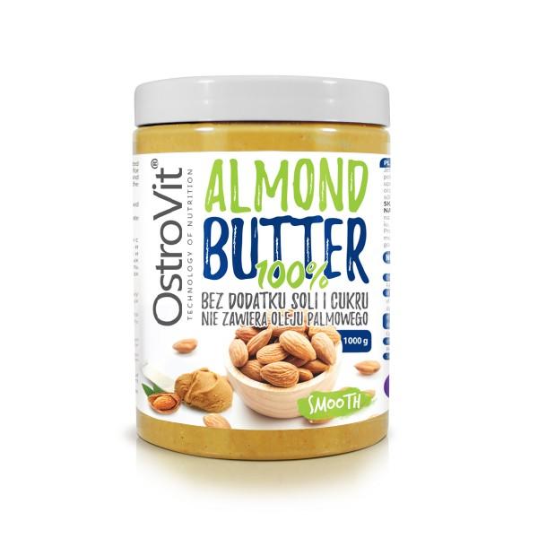 100% Manteiga de Amêndoa 1000g | OstroVit