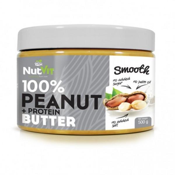 100% Manteiga de Amendoim + Protein 500g | OstroVit
