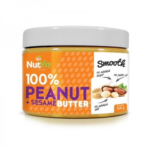100% Manteiga de Amendoim + Sésamo 500g | OstroVit