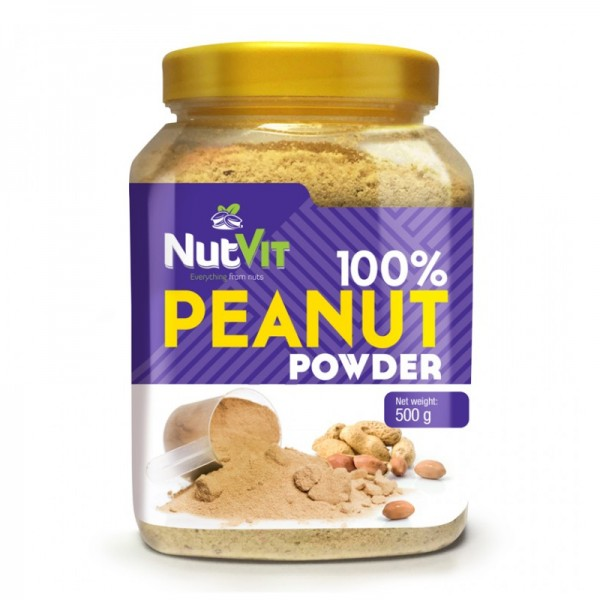 100% Amendoim em Pó 500g | OstroVit
