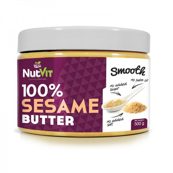 100% Manteiga de Sésamo 500g | OstroVit