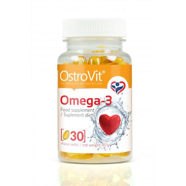 Omega 3 30 Softgels | OstroVit