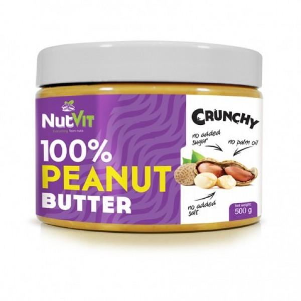 100% Manteiga de Amendoim 500g | OstroVit